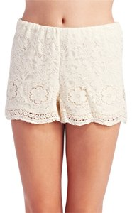 Wet Seal Shorts Ivory
