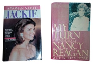 Nancy Regan & Jackie Kennedy Collectable Hardcover Books