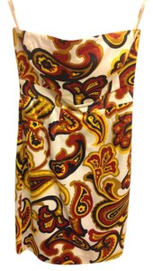 Banana Republic Paisley Strapless Dress