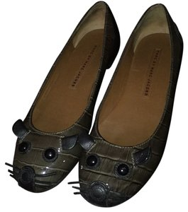 Marc Jacobs Grey/brown/green Flats