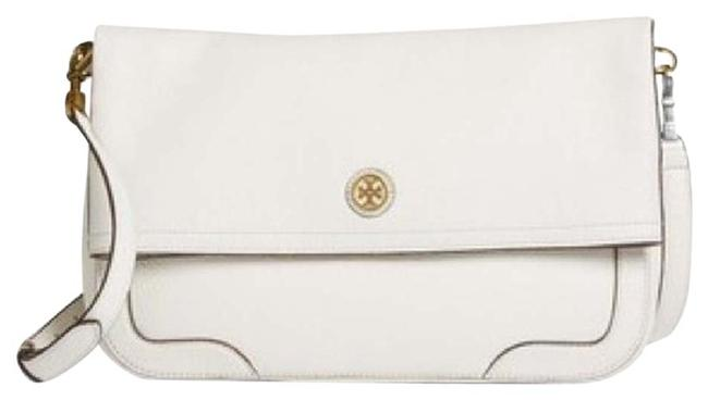 Item - Frances New with Tag Ivory White Leather Messenger Bag
