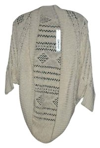 DKNY Cover Up Wrap Style Cocoon Linen/cotton Knit Medium/large Cardigan