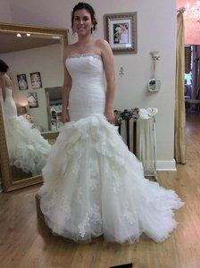 Enzoani Haldana Trumpet Skirt Wedding Dress