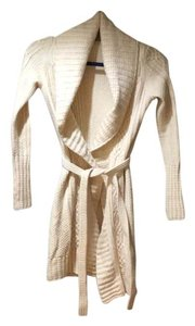Elie Tahari Tie Belt Warm Extrafine Cardigan
