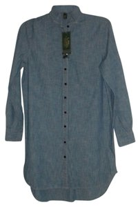RLX Ralph Lauren short dress denim chambray Shirt on Tradesy