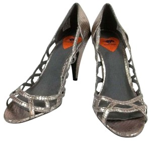 Rocket Dog Metallic silver Pumps