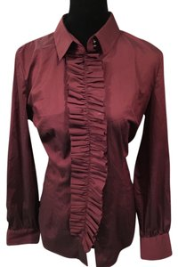 New York & Company Top Wine (Purple)
