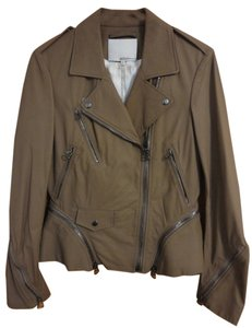 3.1 Phillip Lim Leather Biker Motorcycle Jacket