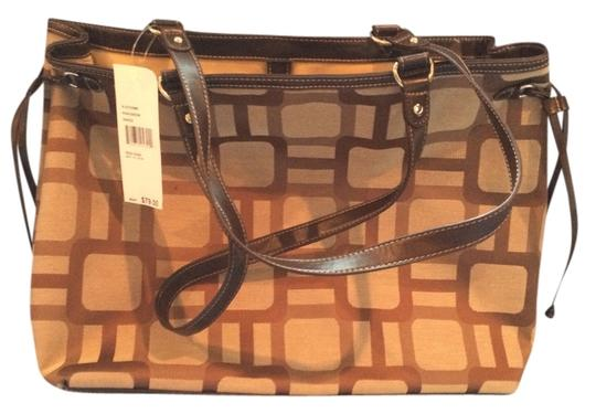 Preload https://item3.tradesy.com/images/nine-west-the-3044039-is-on-the-tag-khakibrown-satchel-1318847-0-0.jpg?width=440&height=440
