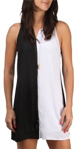 Volcom short dress Black and White on Tradesy