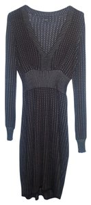 Express Knit V-neck Sweater Dress