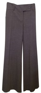 BCBGMAXAZRIA Bcbg Max Azria Trouser Wide Leg Pants Grey/Gray