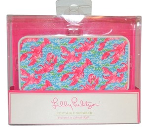 "Lilly Pulitzer Lilly Pulitzer Portable Speakers in ""Lobstah Roll""-Brand New in Box"