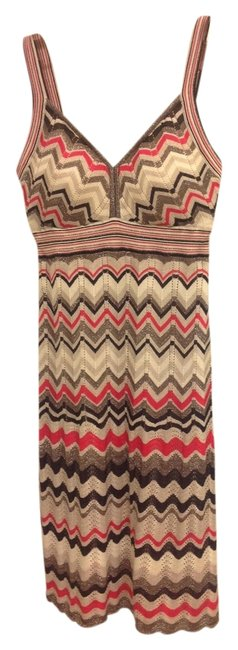 Guess short dress Multi Colored Chevron Knit Soft on Tradesy