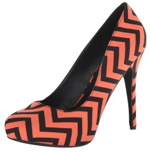 Michael Antonio Love Me Platform Heels Coral Pumps