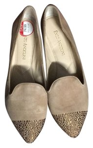 Enzo Angiolini Tan , suede Flats