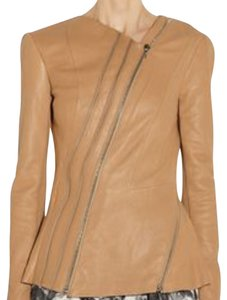 Willow & Clay Beige/nude Leather Jacket