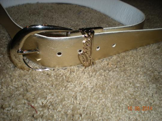 Guess Great Metallic Gold Guess Belt in Wonderful Condition