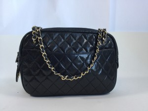Chanel Leather Quilted Classic Shoulder Bag