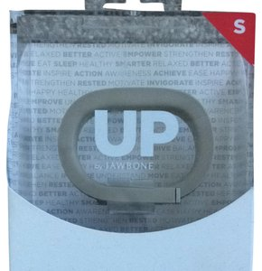 Jawbone UP By Jawbone. Light Gray. S