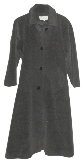 Item - Gray Flared Wool Coat Size 6 (S)