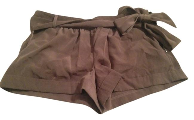 Item - Brown Dressy Bow Fancy Shorts Size 6 (S, 28)