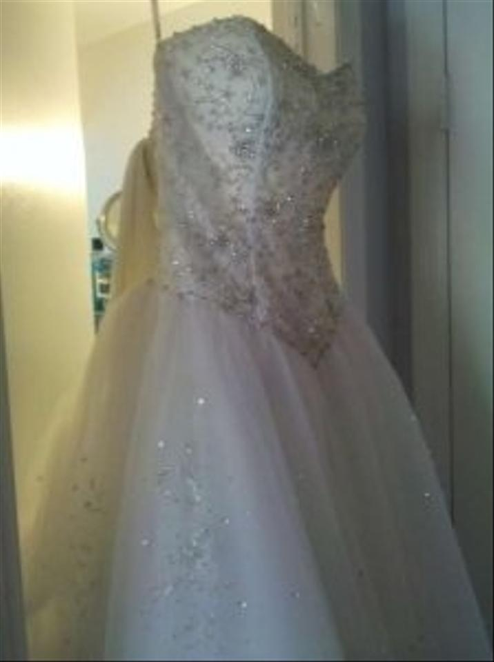 White Or Best Offer Jp1003 Traditional Wedding Dress Size 6 (S ...