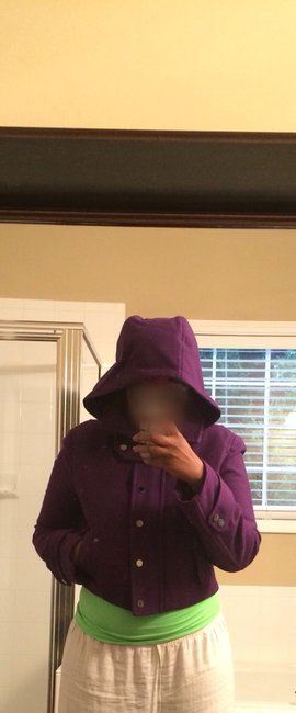 BCBGMAXAZRIA Purple Jacket