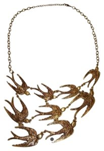 Other Swallows Bib Necklace