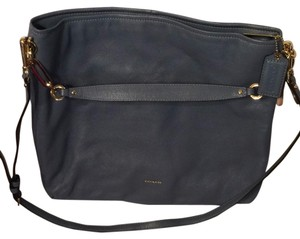 Coach Satchel in blue grey