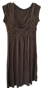 Soprano short dress Taupe on Tradesy