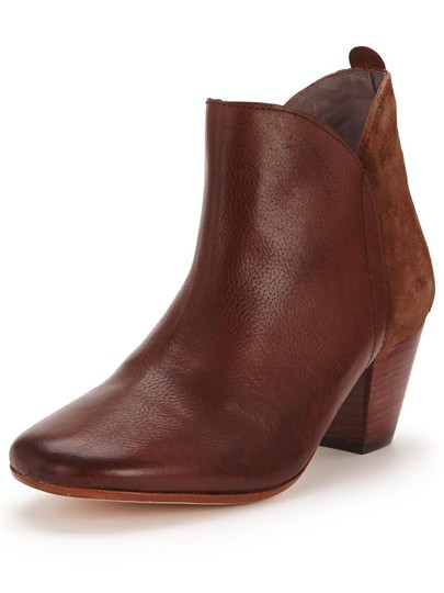 Anthropologie H By Hudson Suede Leather Brown Boots Image 1