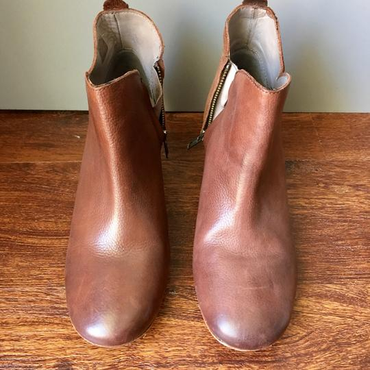 Anthropologie H By Hudson Suede Leather Brown Boots Image 2