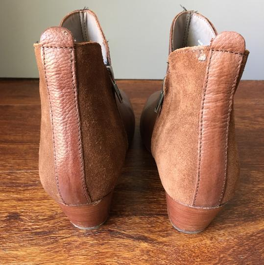 Anthropologie H By Hudson Suede Leather Brown Boots Image 6