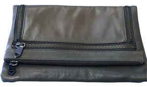 Christopher Kan Olive Green Clutch
