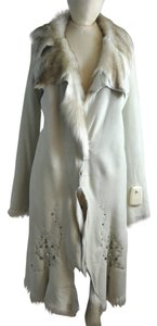 Knight Natural Sheepskin Fur Coat