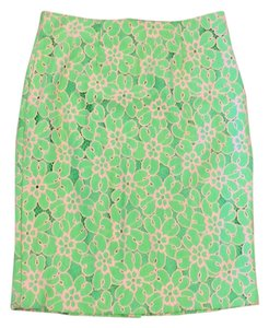 Lilly Pulitzer Skirt New Green