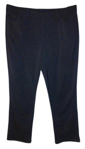 Gloria Vanderbilt Trouser Pants Charcoal/Dark Grey