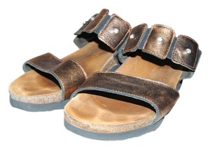 Naot Noat Ashley Metallic Sandals