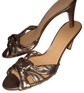 Salvatore Ferragamo Bronze Sandals