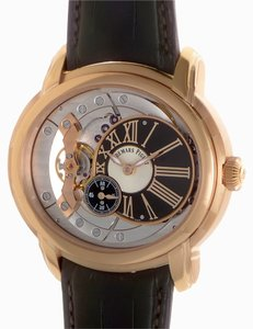 Audemars Piguet Audemars Piguet Millenary 4101 15350OR.OO.D093CR.01 Rose Gold Brown Alligator Automatic