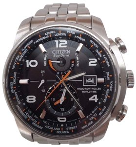 Citizen Citizen Eco Drive Stainless Steel Mens Watch AT9010-52E