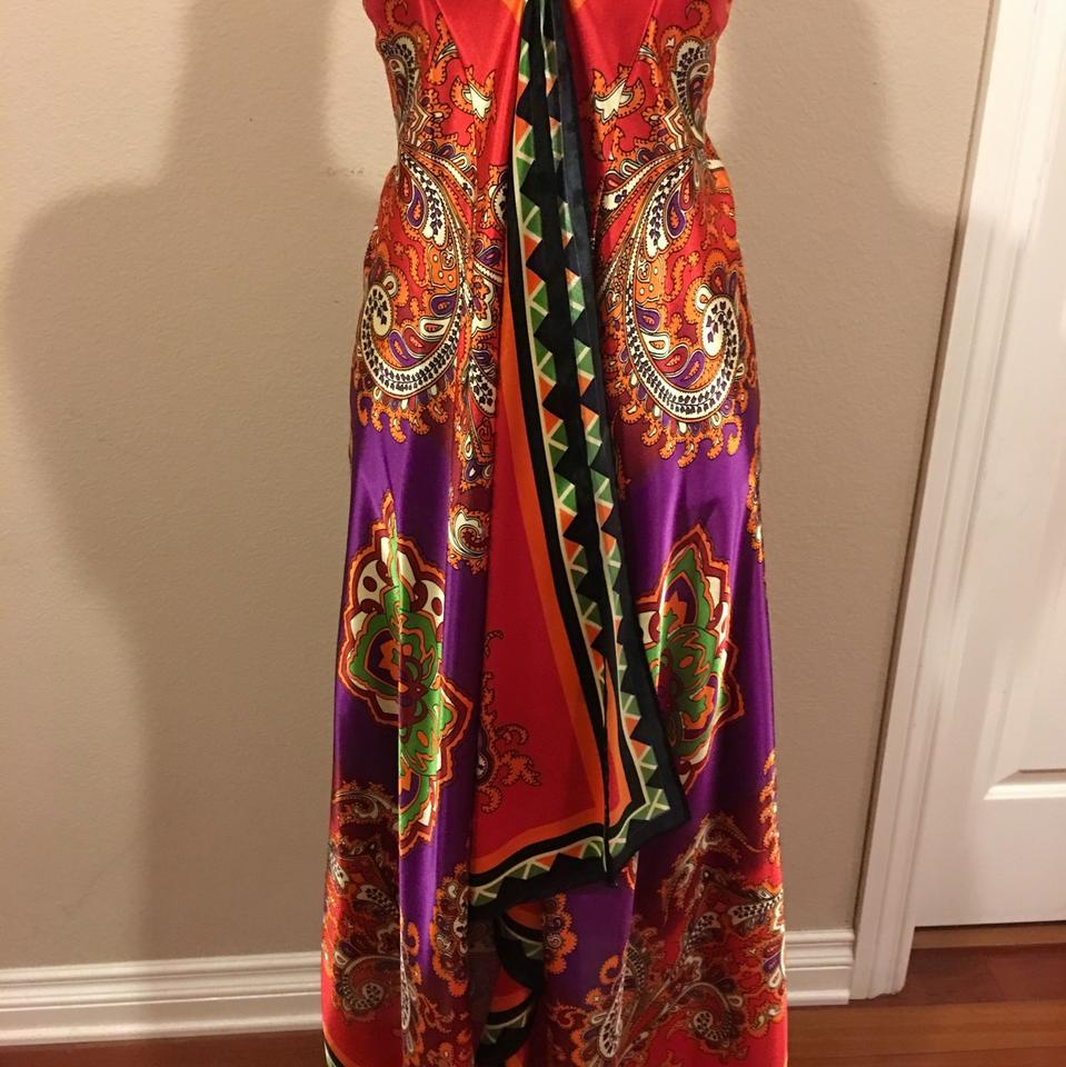 Rubber Ducky Productions, Inc. High-low Casual Maxi Dress Size 6 (S ...