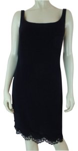 Emanuel Ungaro Slip Sleeveless Little Lined Dress