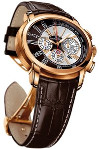 Audemars Piguet Audemars Piguet Millenary Chronograph 26145OR.OO.D093CR.01 Rose Gold Brown Crocodile Automatic