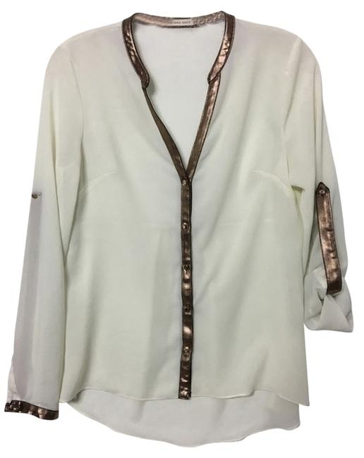 Preload https://img-static.tradesy.com/item/13198258/mustard-seed-ivory-and-bronze-sheer-with-faux-leather-trim-blouse-size-6-s-0-2-650-650.jpg