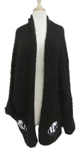 Wildfox Jacket Fuzzy Sweater