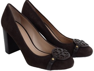 Tory Burch Coconut Brown Pumps