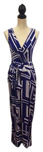 Blue Maxi Dress by Rubber Ducky Productions, Inc.