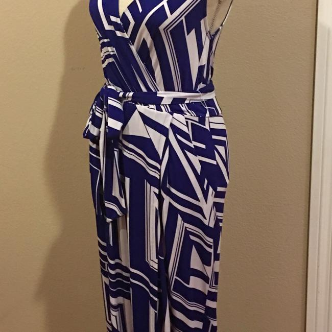 Blue Maxi Dress by Rubber Ducky Productions, Inc. Image 2